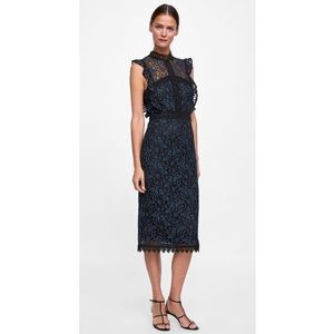 35640166 Women Zara Guipure Lace Dress on Poshmark